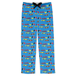 Racing Car Mens Pajama Pants (Personalized)