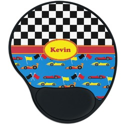 Racing Car Mouse Pad with Wrist Support