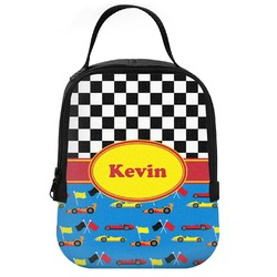 Racing Car Neoprene Lunch Tote (Personalized)