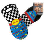 Racing Car Neoprene Oven Mitt (Personalized)