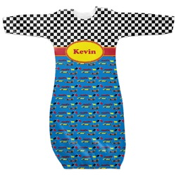 Racing Car Newborn Gown (Personalized)