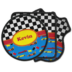 Racing Car Iron on Patches (Personalized)