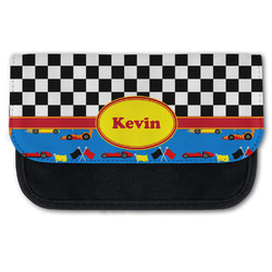 Racing Car Canvas Pencil Case w/ Name or Text