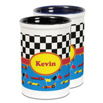 Racing Car Ceramic Pencil Holder - Large