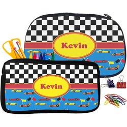 Racing Car Pencil / School Supplies Bag (Personalized)