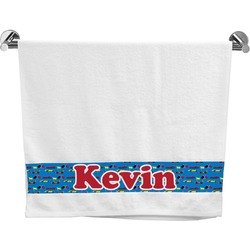 Racing Car Bath Towel (Personalized)