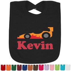 Racing Car Bib - Select Color (Personalized)