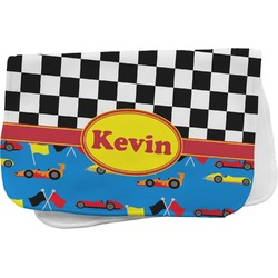 Racing Car Burp Cloth (Personalized)