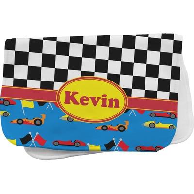 Racing Car Burp Cloth (Personalized)
