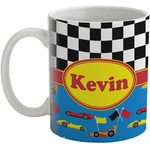 Racing Car Coffee Mug (Personalized)