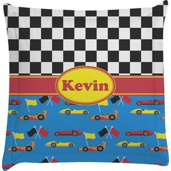 Racing Car Euro Sham Pillow Case (Personalized)