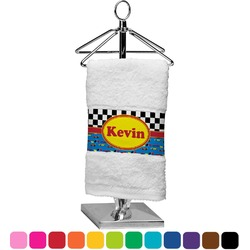 Racing Car Finger Tip Towel (Personalized)