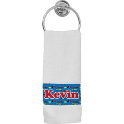 Racing Car Hand Towel (Personalized)