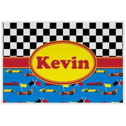 Racing Car Placemat (Laminated) (Personalized)