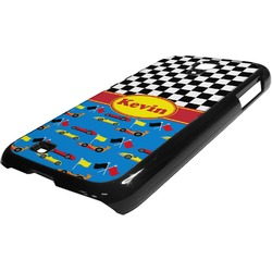 Racing Car Plastic Samsung Galaxy 4 Phone Case (Personalized)