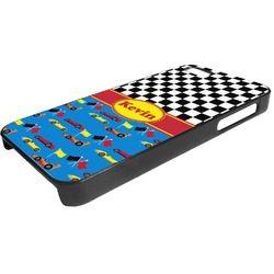 Racing Car Plastic iPhone 5/5S Phone Case (Personalized)