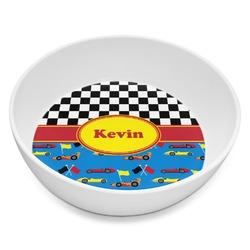 Racing Car Melamine Bowl 8oz (Personalized)