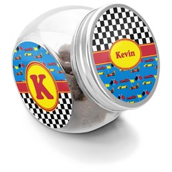 Racing Car Puppy Treat Jar (Personalized)