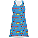 Racing Car Racerback Dress (Personalized)