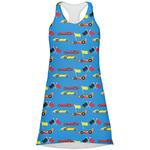 Racing Car Racerback Dress (Personalized)