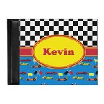Racing Car Genuine Leather Guest Book (Personalized)