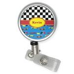 Racing Car Retractable Badge Reel (Personalized)