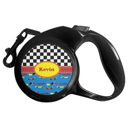 Racing Car Retractable Dog Leash - Multiple Sizes (Personalized)