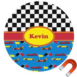 Racing Car Car Magnet (Personalized)