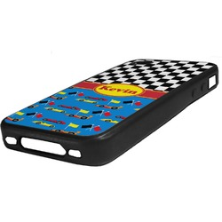 Racing Car Rubber iPhone Case 4/4S (Personalized)
