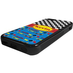 Racing Car Rubber iPhone 5C Phone Case (Personalized)