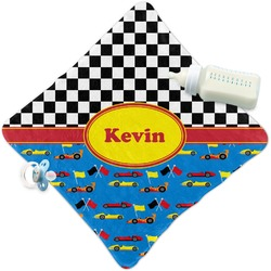 Racing Car Security Blanket (Personalized)