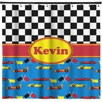 Racing Car Shower Curtain (Personalized)