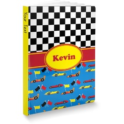 Racing Car Softbound Notebook (Personalized)