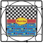 Racing Car Square Trivet (Personalized)