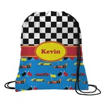 Racing Car Drawstring Backpack (Personalized)