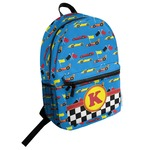 Racing Car Student Backpack (Personalized)