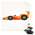 Racing Car Sublimation Transfer (Personalized)