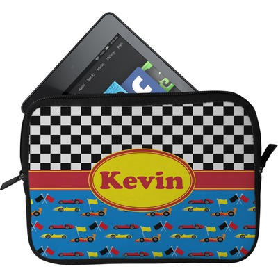 Racing Car Tablet Case / Sleeve (Personalized)