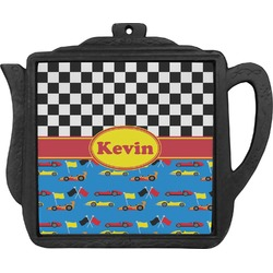 Racing Car Teapot Trivet (Personalized)