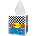 Racing Car Tissue Box Cover (Personalized)