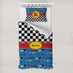Racing Car Toddler Bedding Set w/ Name or Text