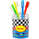 Racing Car Toothbrush Holder (Personalized)