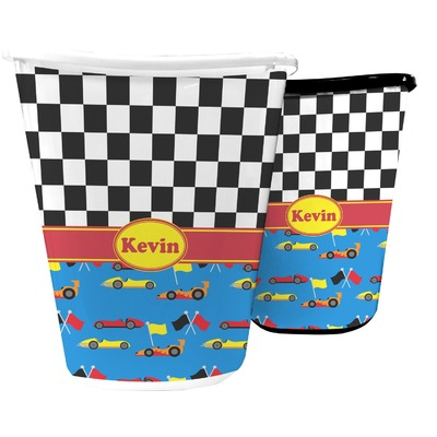 Racing Car Waste Basket (Personalized)