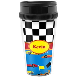 Racing Car Travel Mugs (Personalized)