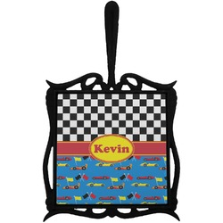 Racing Car Trivet with Handle (Personalized)