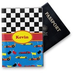 Racing Car Vinyl Passport Holder (Personalized)