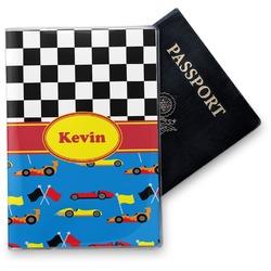 Racing Car Vinyl Passport Holder (Personalized)