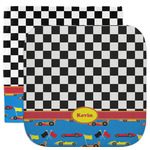 Racing Car Facecloth / Wash Cloth (Personalized)