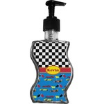 Racing Car Wave Bottle Soap / Lotion Dispenser (Personalized)