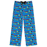 Racing Car Womens Pajama Pants (Personalized)